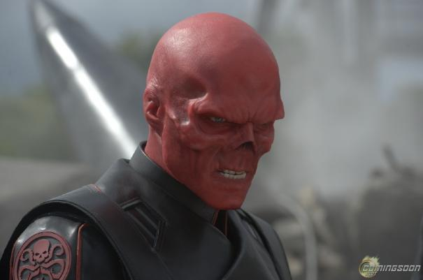 Captain America  - Red Skull