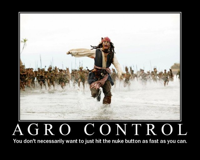 Agro Control - a mage's greatest weakness