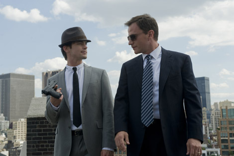 White Collar - Neal Caffrey (Matt Bomer) and Peter Burke (Tim DeKay) - photo credit NBC Universal