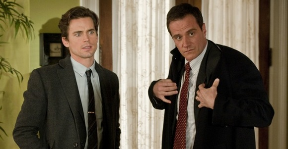 Neal Caffrey (Matt Bomer) and Peter Burke (Tim DeKay) - the reasons I can't concentrate when this show is on.