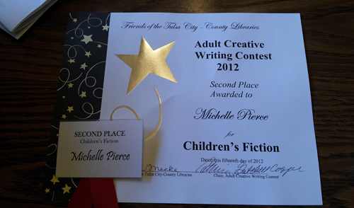 Friends of the Tulsa City-County Library - Second Place - Children's Fiction
