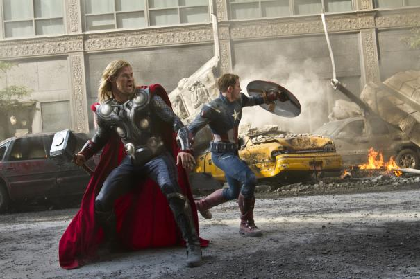 Thor and Captain America - Just another Tuesday
