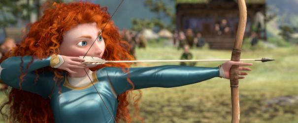 Merida the archer - Brave