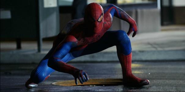 Spider-Man (Andrew Garfield) in The Amazing Spider-Man