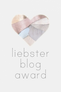 Liebster Blog Award - Oooh shiny!
