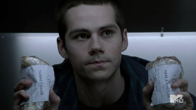 Dylan O'Brien as Stiles, Teen Wolf