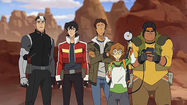 Voltron Paladins: Shiro, Keith, Lance, Pidge, Hunk